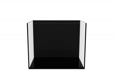 Аквариум aGLASS Black 22 л с черной задней стенкой