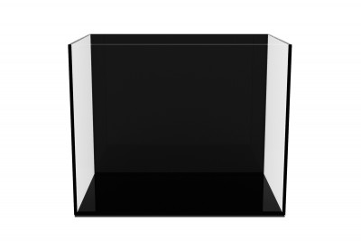 Аквариум aGLASS Black 54 л с черной задней стенкой