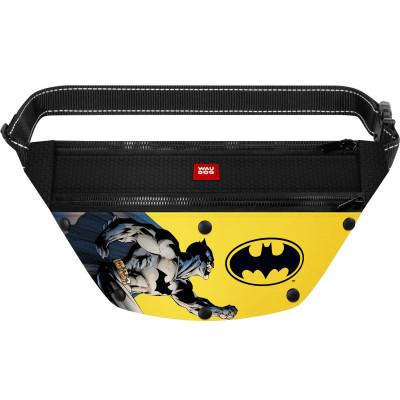 Поясная сумка-бананка WAUDOG с рисунком «Бэтмен 1» для корма и аксессуаров