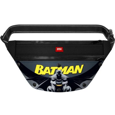 Поясная сумка-бананка WAUDOG с рисунком «Бэтмен 2» для корма и аксессуаров