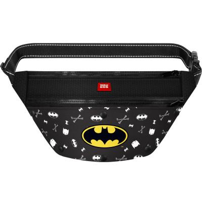 Поясная сумка-бананка WAUDOG с рисунком «Бэтмен 3» для корма и аксессуаров