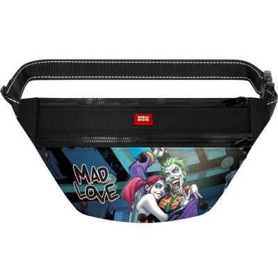Поясная сумка-бананка WAUDOG с рисунком «Джокер» для корма и аксессуаров