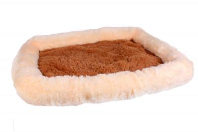 Лежанка «Шик» для собак и кошек серии «Уют» 70x52x8 см