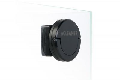 aCLEANER - магнитный скребок для аквариумов с толщиной стенки до 10 мм. Черный