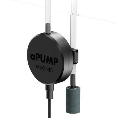 aPUMP MAGNET - самый тихий и компактный аквариумный компрессор в мире, до 100 л, крепление на магните