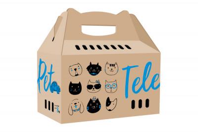 Коробка-переноска TelePet - недорогая и функциональная альтернатива пластиковым боксам-переноскам