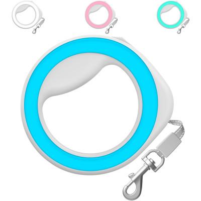 Поводок-рулетка WAUDOG круглая, для собак мелких и средних пород от 10 до 40 кг